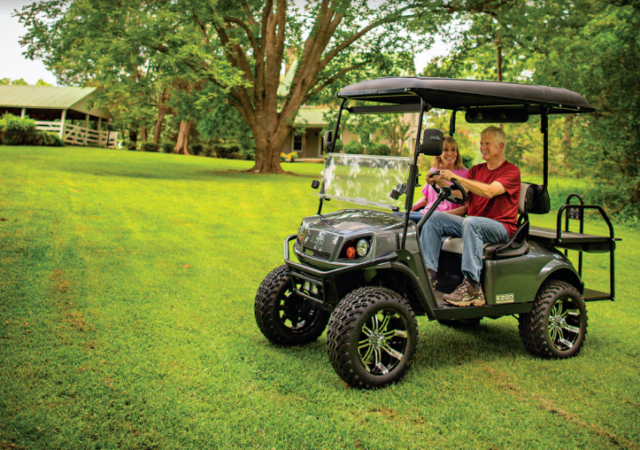 EZGO S4 Tracker Off Road