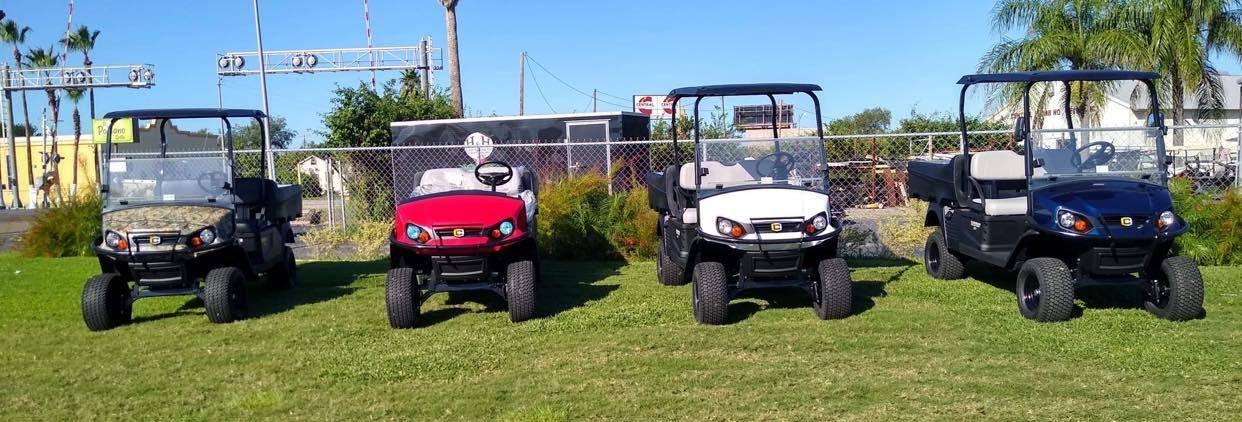 Cushman Utility Golf Carts