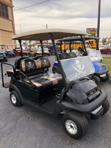 Pirate golf cart