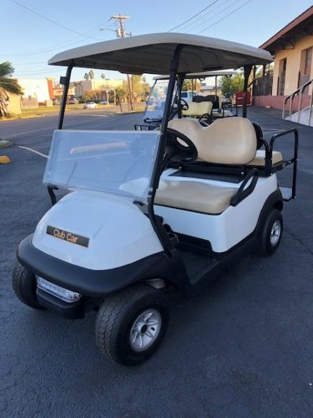 Club Car White